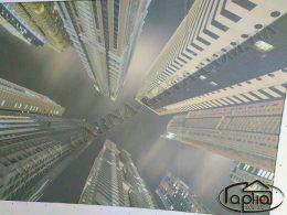 натяжные потолки рисунок города