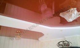 натяжные потолки в доме зал
