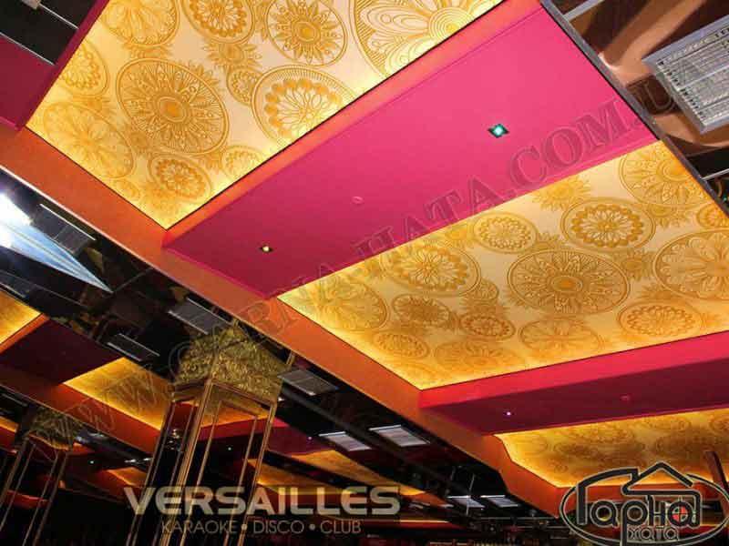натяжные потолки с фотопечатью в Луцке- Версаль
