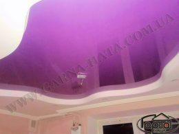 натяжные потолки с гипсокартоном в зале