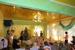 натяжные потолки зал в детском саду