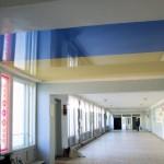 Натяжні стелі в навчальному закладі