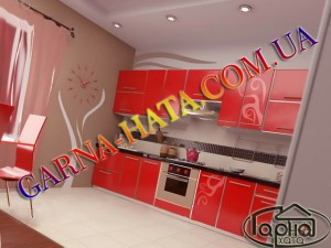Натяжні стелі на кухні, потолок в кухні