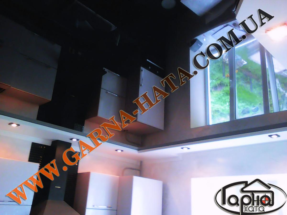 Глянцеві натяжні стелі, ціна, фото