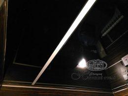 Парящий натяжной потолок, линия