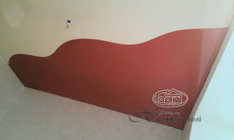 комбинированные натяжные потолки арт флер в луцке