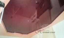 натяжной двухуровневый потолок цена