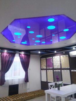 натяжной потолок apply подсветка