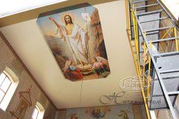 натяжні стелі в Коршеві з малюнком