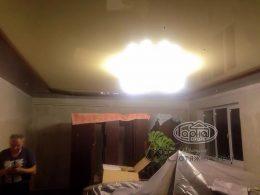 потолки натяжные двухуровневые