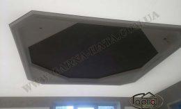 натяжной потолок в Ровно черного цвета