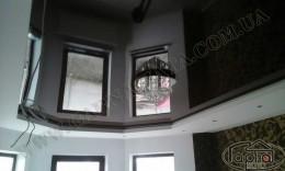 ровные натяжные потолки фото