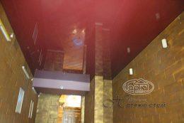 глянцевый натяжной потолок клуб Версаль