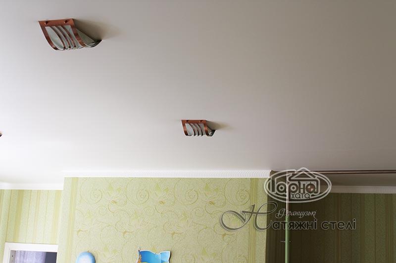 матовые натяжные потолки детский сад