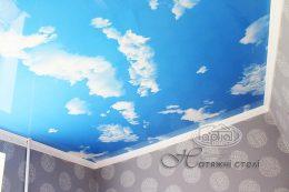 натяжной потолок небо цена