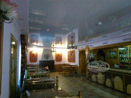 натяжной потолок в Млынове, ресторан сапфир