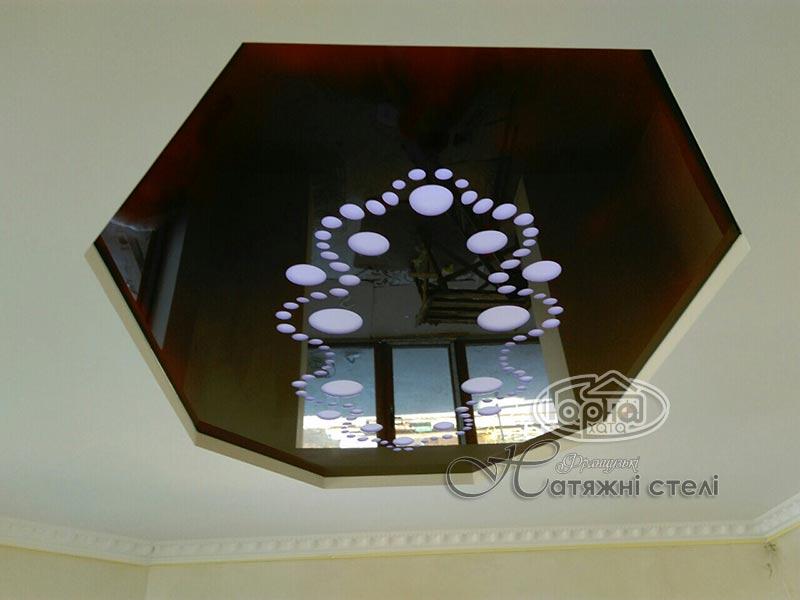 натяжные потолки apply в зале