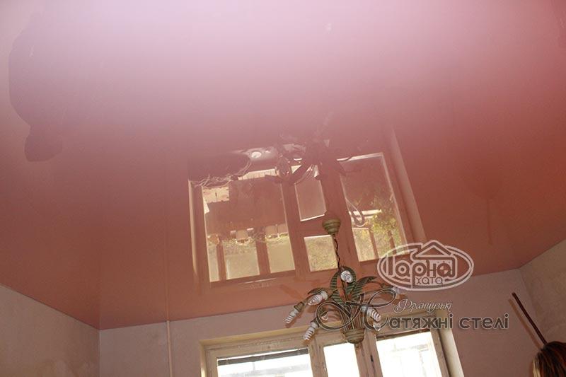 натяжные потолки глянец луцк, фото
