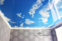 натяжні стелі небо