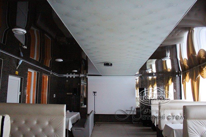 натяжні стелі ресторан в володимир-волинському