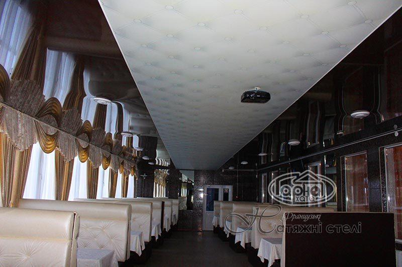 натяжні стелі в володимир-волинському, ресторан Княгині Ольги