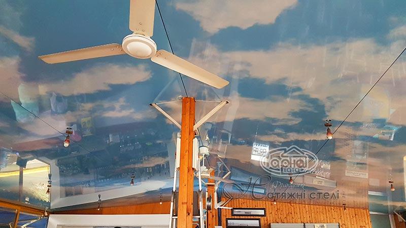 натяжні стелі з фотодруком небо