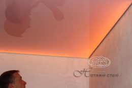 система освітлення натяжних стель