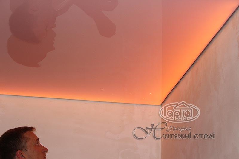 система освещения натяжных потолков