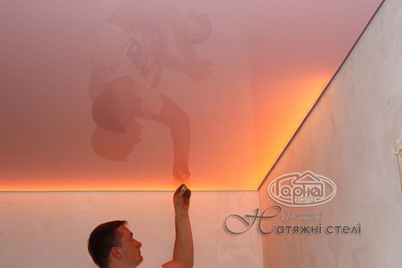система подсветки натяжных потолков