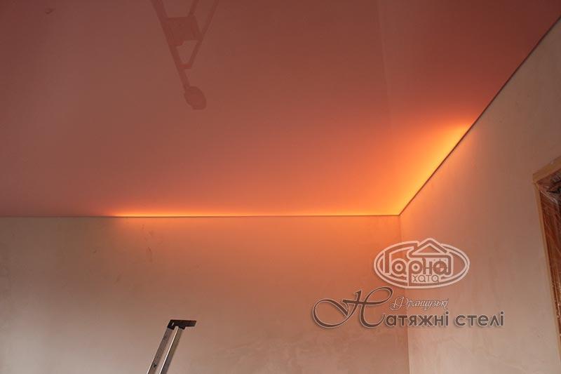светодиодная подсветка натяжного потолка цена