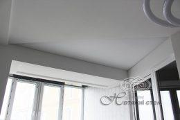 матовый натяжной потолок в квартире