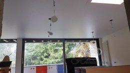 матовый натяжной потолок в в Германии, город Саарбрюккен