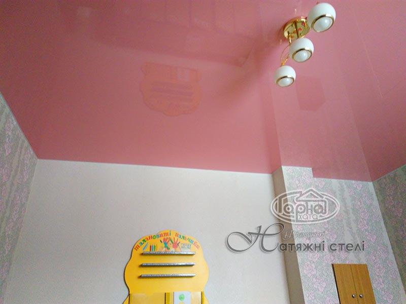 натяжной глянцевый потолок луцк детский сад 19
