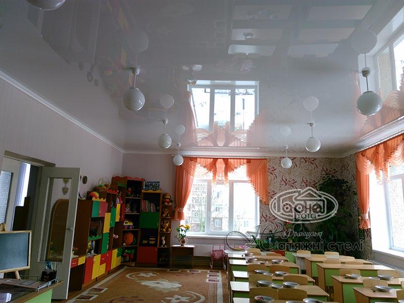 натяжной потолок в Луцке детский сад 19