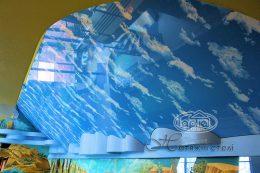 натяжные потолки небо в Поддубцах