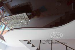 натяжные потолки в гипсокартонной конструкции