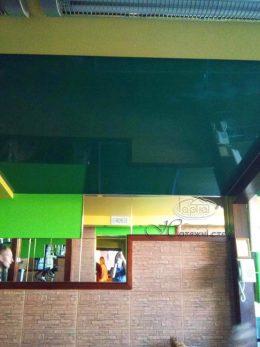 зеленые натяжные потолки в 101 км