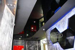 натяжной потолок глянец в клубе опера