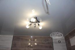 потолки натяжные глянец