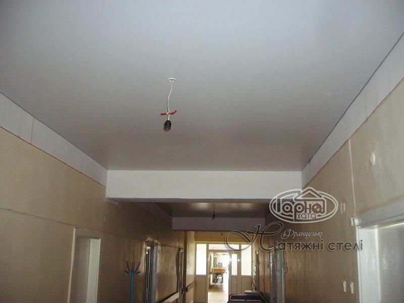 натяжні стелі в міській лікарні 2 луцьк