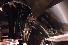 3D натяжные потолки, диско клуб Польша