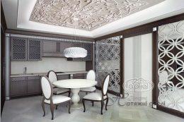 3D потолки фотопечать