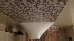 фото натяжные потолки 3D