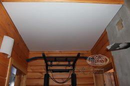 матовый потолок белый