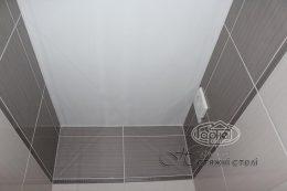 матовые натяжные потолки в туалете