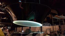 натяжной 3D потолок