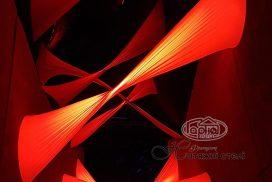 натяжной потолок 3D фото