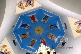 натяжна стеля фотодрук в соборі