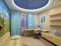 натяжной потолок звездное небо старпинс