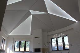 натяжні стелі геометричної форми trs